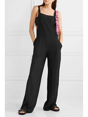 The Range vapor crinkled-voile jumpsuit
