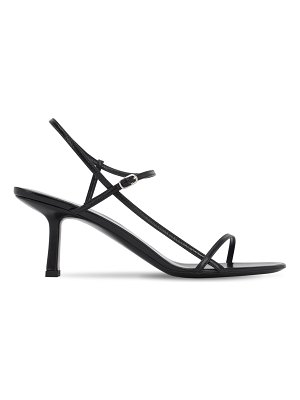 THE ROW 65mm bare leather sandals