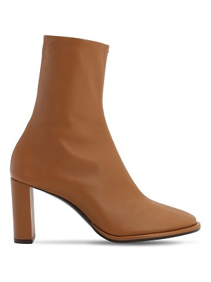 THE ROW 85mm teatime leather ankle boots