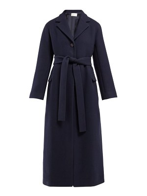 THE ROW amoy single-breasted belted cashmere coat