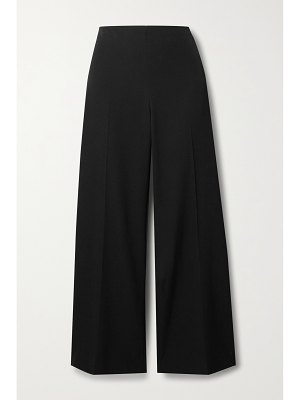 THE ROW ander cropped wool wide-leg pants