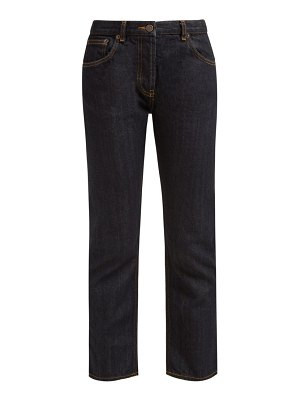 THE ROW Ashland Selvedge Denim Straight Leg Jeans