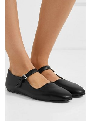 THE ROW ava leather mary jane ballet flats