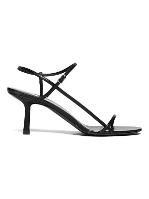 THE ROW bare mid-heel leather sandals