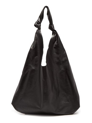 THE ROW bindle large leather tote bag
