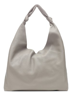 THE ROW bindle leather shoulder bag