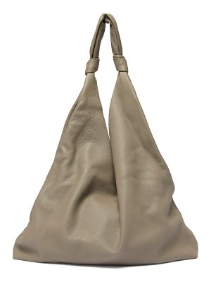 THE ROW bindle leather tote bag