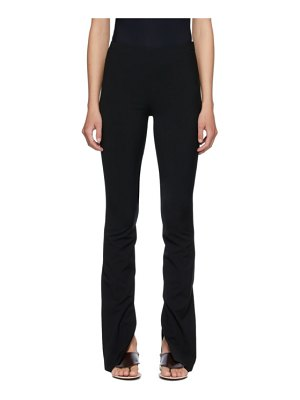 THE ROW black carlotta trousers
