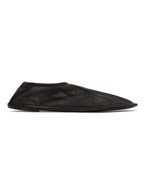 THE ROW black sock loafers