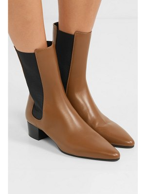 THE ROW british leather chelsea boots