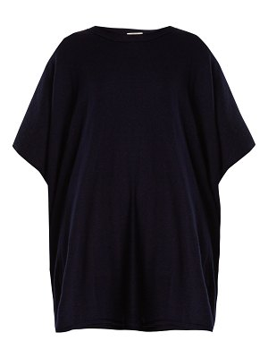THE ROW Cafty Cashmere Blend Poncho