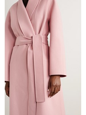 THE ROW celete belted cashmere coat