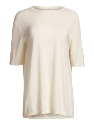 THE ROW darcia merino wool & cashmere top