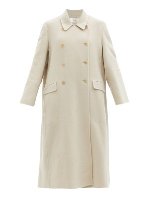 THE ROW dilona double-breasted cashmere-blend twill coat