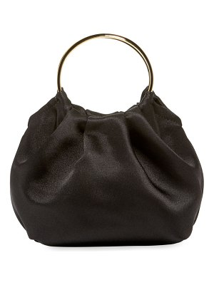 THE ROW Double Circle Micro Top Handle Bag
