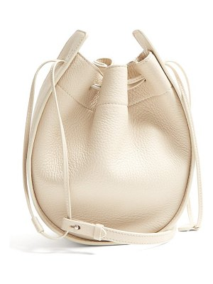 THE ROW drawstring leather cross-body bag