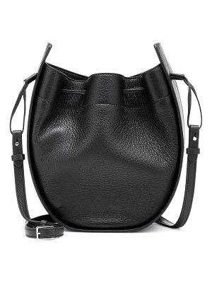 THE ROW Drawstring leather shoulder bag
