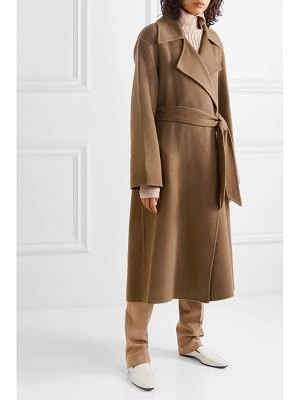THE ROW efo belted cashmere and wool-blend coat