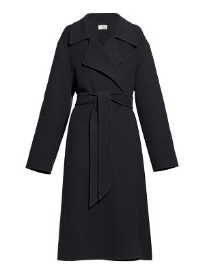 THE ROW efo belted cashmere-blend felt coat