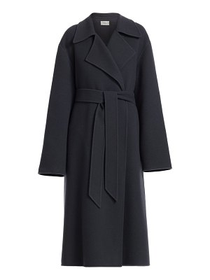 THE ROW efo cashmere wrap coat