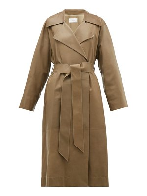 THE ROW efo leather trench coat