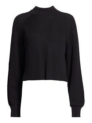 THE ROW elikie silk-blend knit top