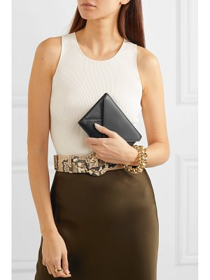 THE ROW envelope leather clutch