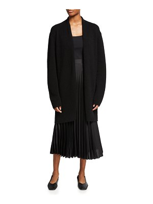 THE ROW Fulham Open-Front Cashmere Cardigan