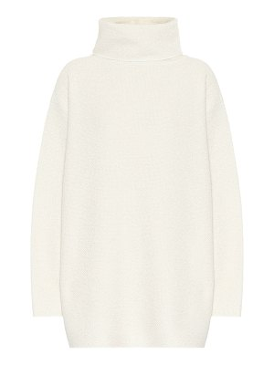 THE ROW gene cashmere and silk sweater