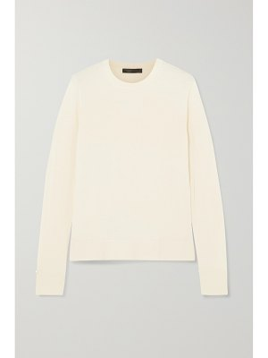 THE ROW ghent cashmere and silk-blend sweater