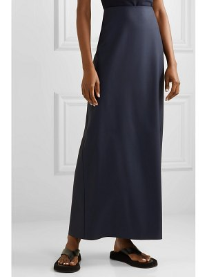 THE ROW hena wool maxi skirt