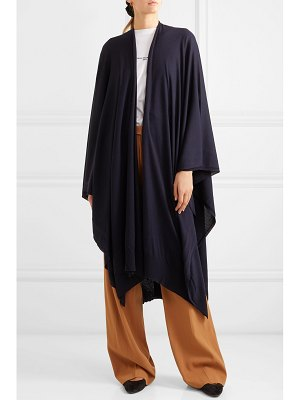 THE ROW hern merino wool and cashmere-blend cape