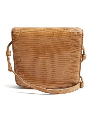 THE ROW julien lizard-skin shoulder bag