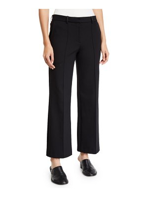 THE ROW Kalise Cropped Wide-Leg Trousers