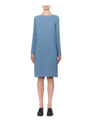 THE ROW Karina Long-Sleeve Shift Dress