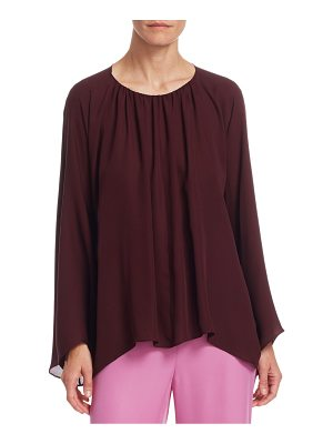 THE ROW lancy silk top