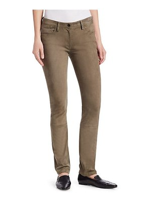 THE ROW landly sude jeans