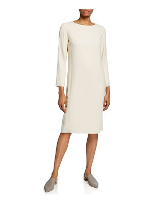 THE ROW Larina Long-Sleeve Shift Dress
