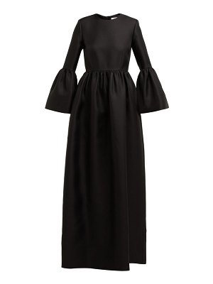 THE ROW lora silk-twill gown
