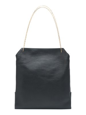 THE ROW lunch leather shoulder bag
