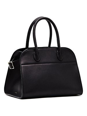 THE ROW Margaux 10 Smooth Calfskin Top Handle Bag