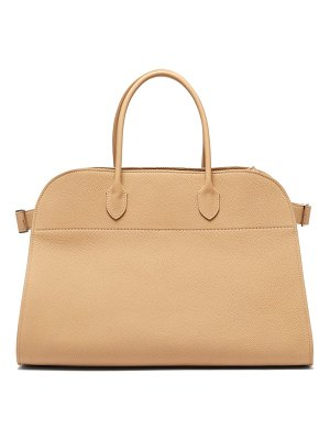 THE ROW margaux 17 grained leather tote bag
