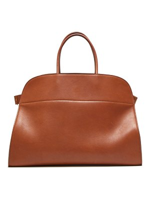 THE ROW margaux 17 large leather tote bag