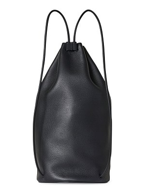 THE ROW massimo leather backpack