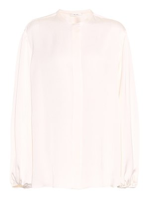 THE ROW Maura silk shirt