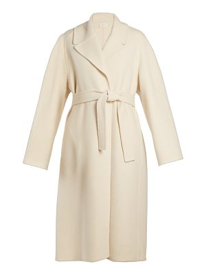 THE ROW Mesly tie-waist double-faced wool coat