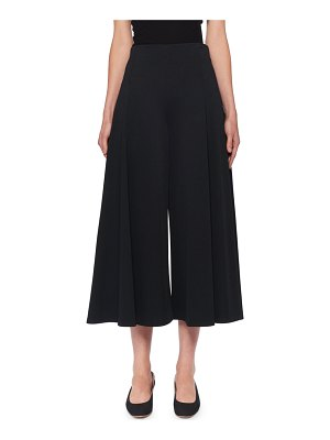 THE ROW Mildro High-Rise Cropped Wide-Leg Pants