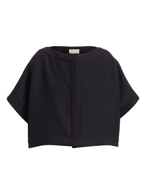 THE ROW miri wool silk cropped jacket
