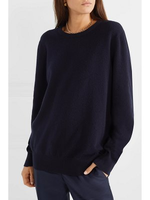 THE ROW olive cashmere sweater