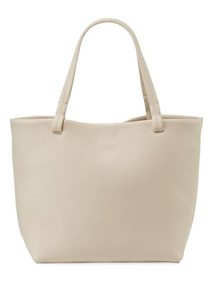 THE ROW Park Small Fine Grained Leather Tote Bag